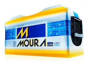 Foto1 - Bateria Moura 220 Ah - Original de Montadora - 15 Meses de garantia