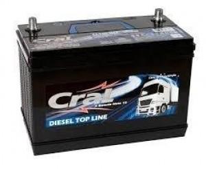Foto1 - Bateria Cral 100 Ah - Caixa Alta - 15 Meses de Garantia