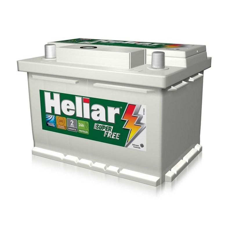 Foto 1 - Bateria Heliar 60 Ah - Original de Montadora - 24 Meses de Garantia