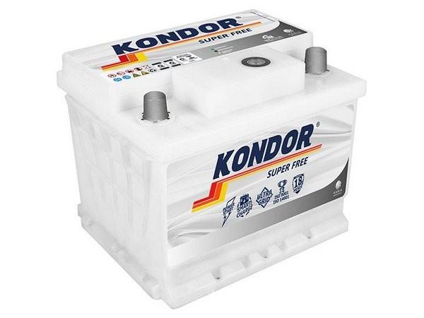 Foto 1 - Bateria Kondor 48 Ah - Livre de Manutenção - 18 Meses de garantia