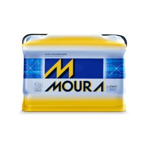 Foto1 - Bateria Moura 60 Ah - Original - Caixa Baixa - 24 Meses de Garantia