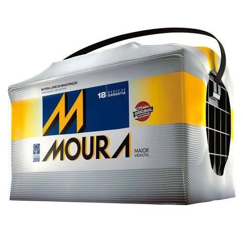 Foto 1 - Bateria Moura 75 Ah - Original de Montadora - 18 Meses de Garantia