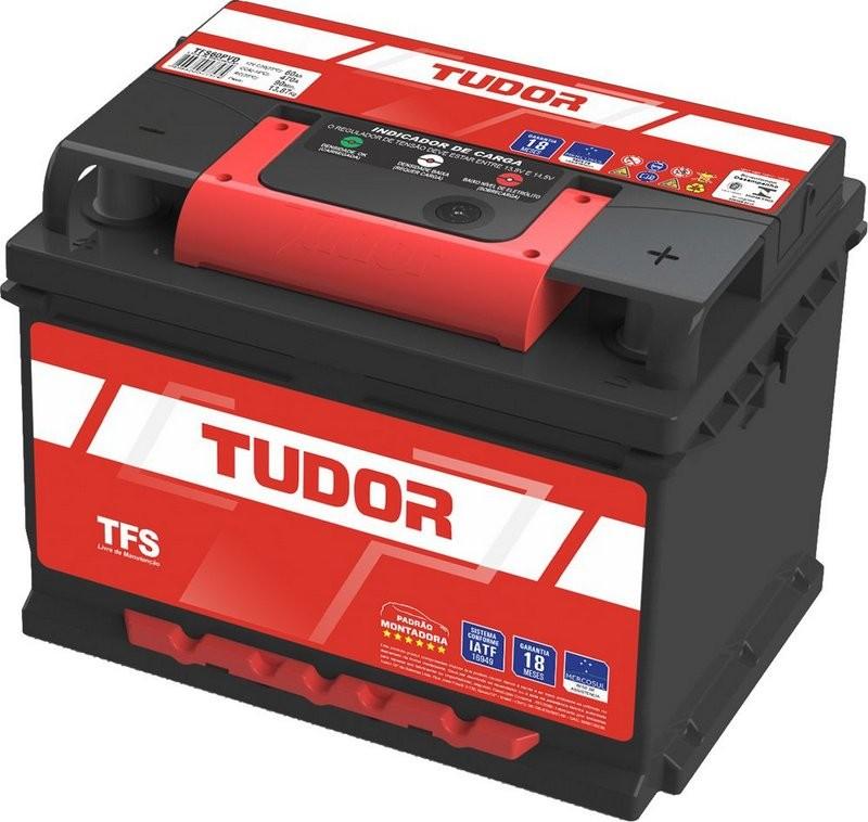 Foto 1 - Bateria Tudor 60 Ah - Sem Manutenção - 18 Meses de Garantia