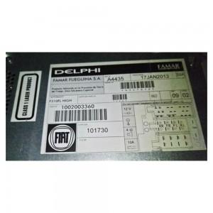 Foto4 - Código de Desbloqueio de Rádio Original Fiat Delphi Famar