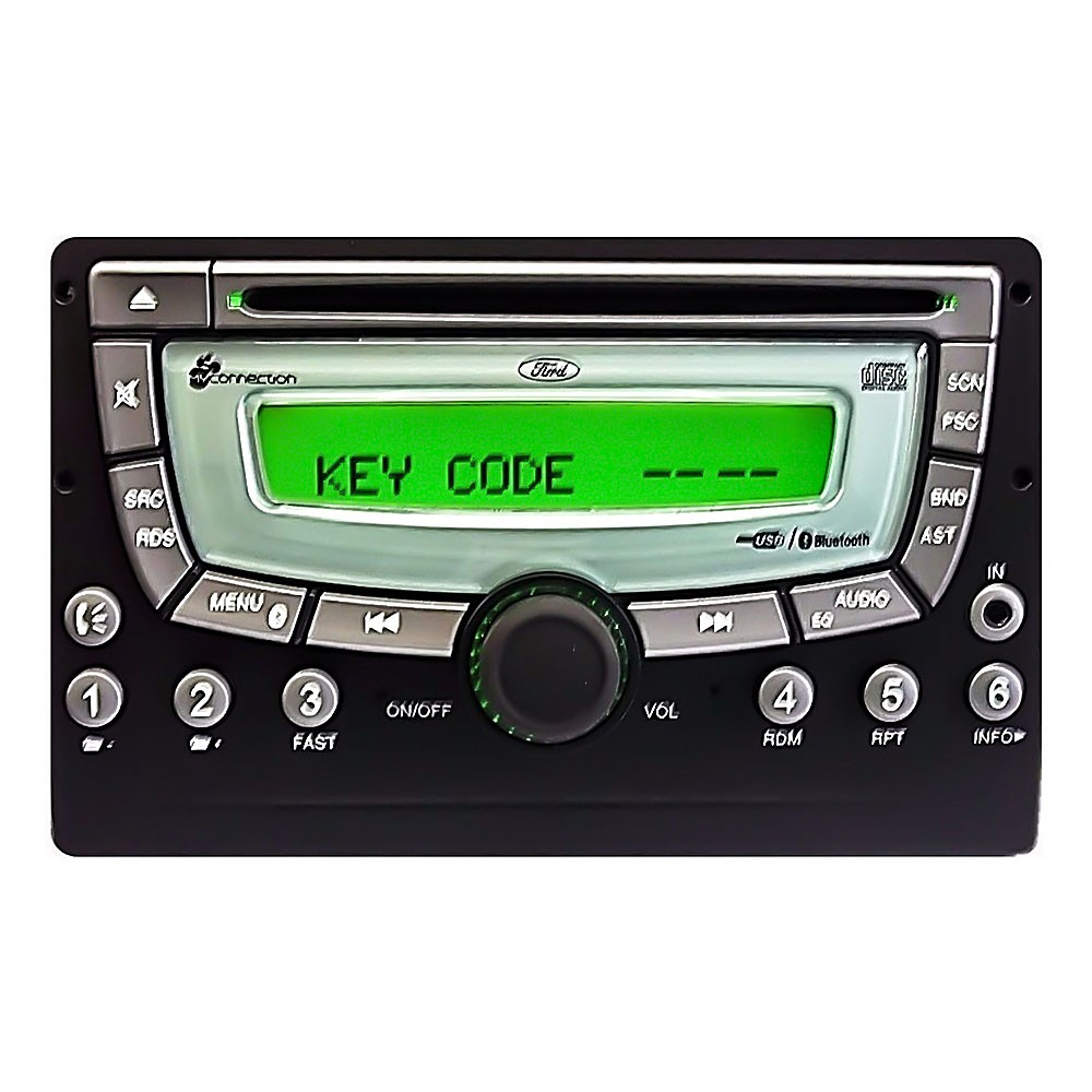 Foto3 - Código de Desbloqueio de Rádio Original Ford Visteon