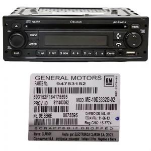Foto5 - Código de Desbloqueio de Rádio Original GM Chevrolet Clarion