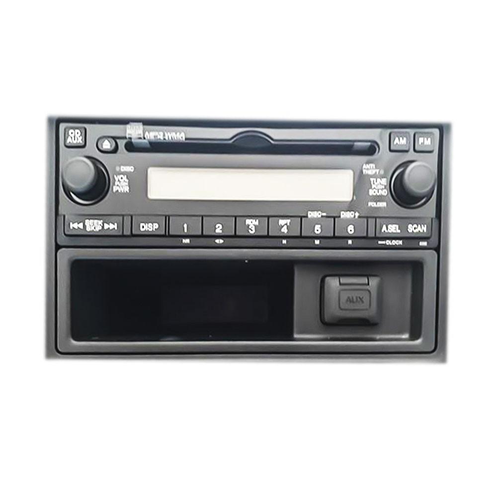 Foto3 - Código de Desbloqueio de Rádio Original Honda CR-V