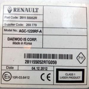 Foto4 - Código de Desbloqueio de Rádio Original Renault