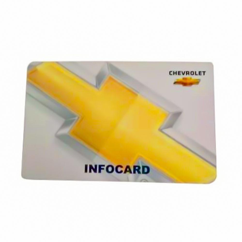 Foto 1 - Infocard - Dados do Cartão da GM Chevrolet