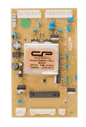 Foto2 - Placa Potência Lavadora Electrolux LTR12 CP1116 70294441