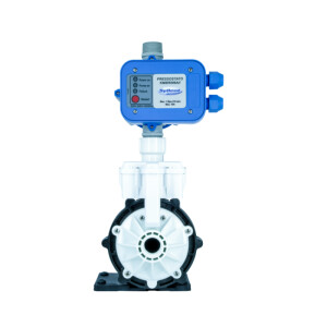 Foto2 - Mini Pressurizador Eletrônico 350W 220V Água Fria