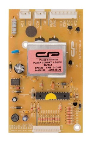 Foto2 - Placa Compatível Lavadora Electrolux LQ11 LF11 bivolt 64800226 CP0549