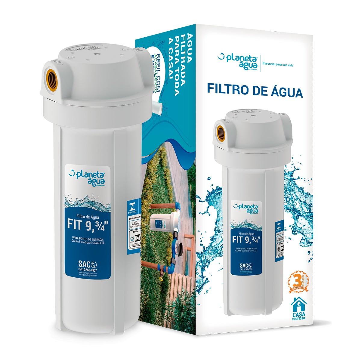 """Foto5 - Filtro Caixa D'Água Fit Poe 9.3/4"""""""