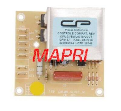 Foto1 - Controle Reversão Compatível Lavadora Consul CWL08A/B/C CWL10A/ BWL07A/ BWL09A CP0167 Bivolt