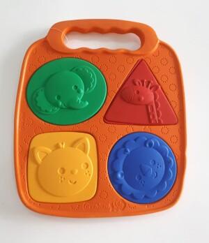 Brinquedo formas EVA I Grendene Kids