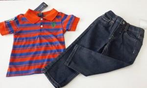 Conjunto (novo) Camisa + calça jeans I Polo Ralph Lauren