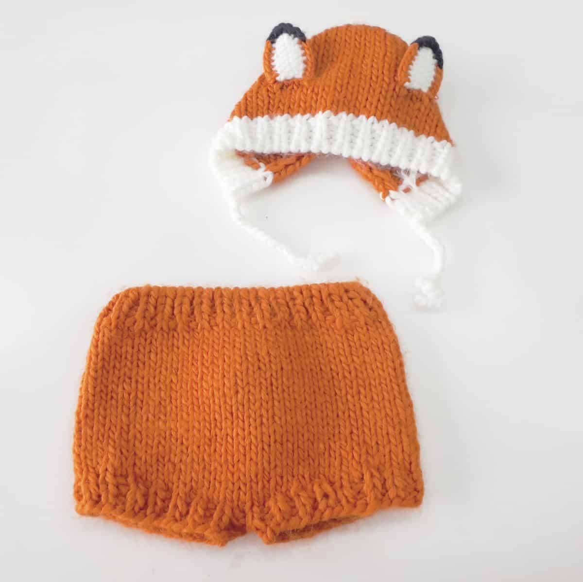 Foto 1 - Conjunto tapa fralda + touca tricot