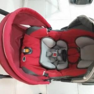 Foto2 - Kit carrinho + bebê conforto Chicco KeyFit 30