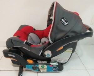 Foto3 - Kit carrinho + bebê conforto Chicco KeyFit 30