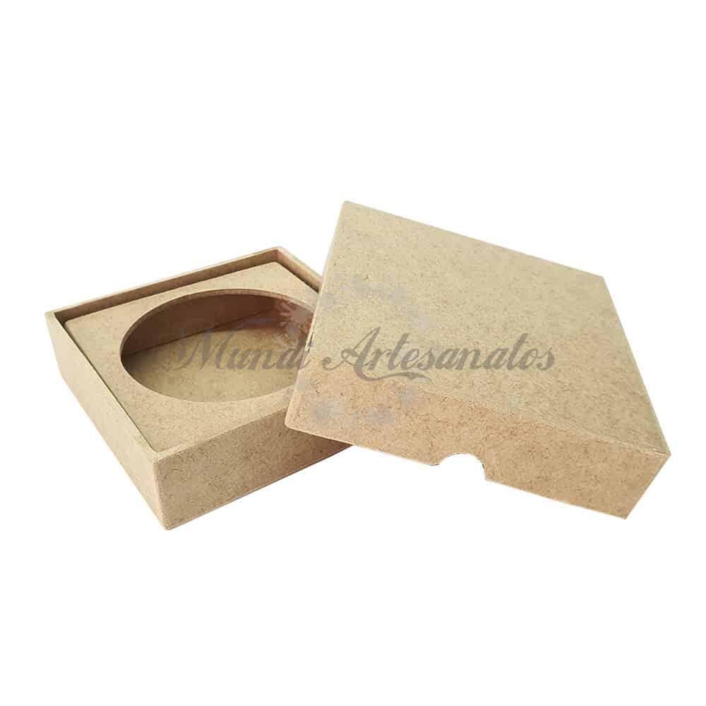 Foto 1 - Caixa porta sabonete 11 x 11 x 3 cm