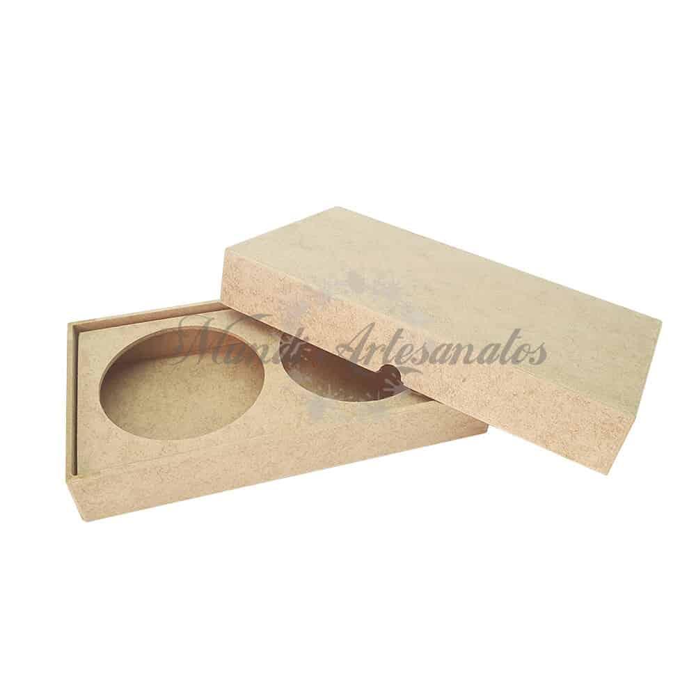 Foto 1 - Caixa porta sabonete 2 lugares 20 x 11 x 3 cm