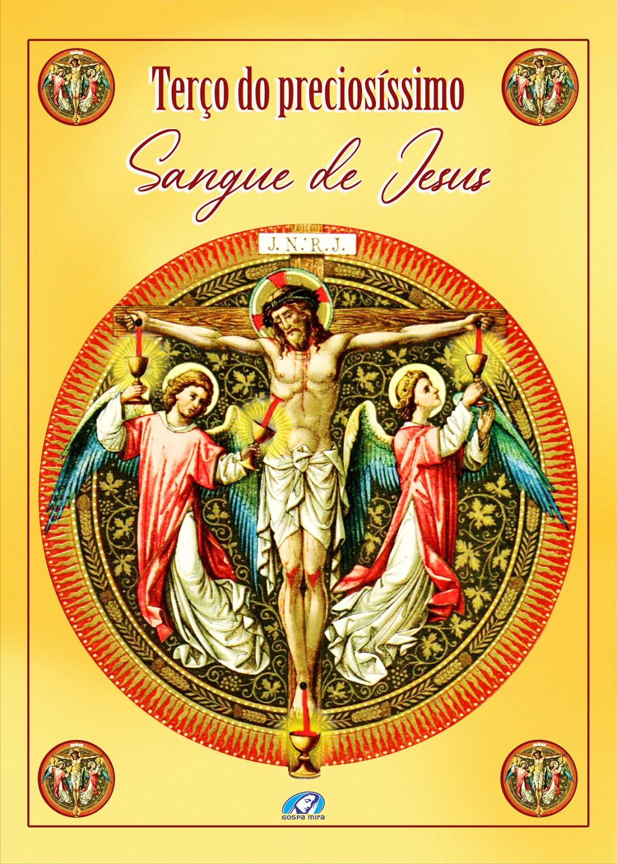 Foto 1 - Livro terço do preciosíssimo Sangue de Jesus