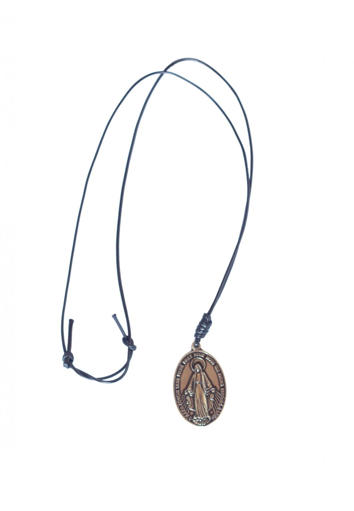 Foto 1 - Medalha N. S. das Graças Cordão