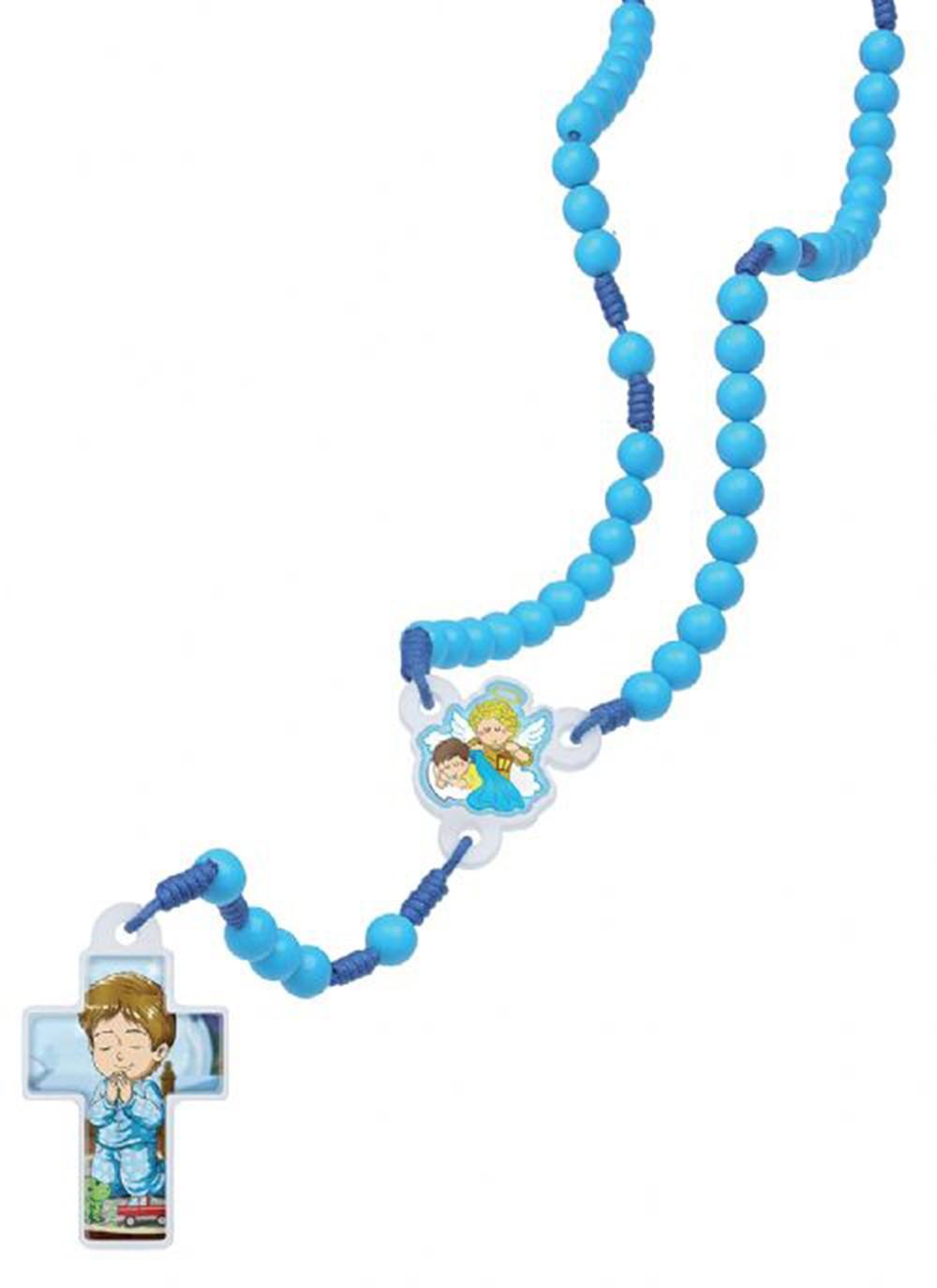 Foto 1 - Terço Infantil Azul
