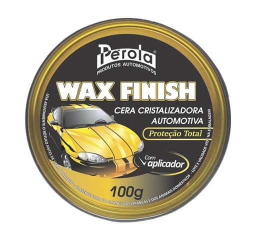 Imagem do produto Cera Cristalizadora Wax Finish - Pérola