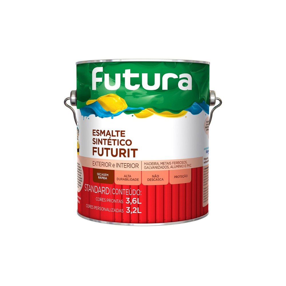 Imagem do produto Esmalte Sintético Brilhante Futurit Futura