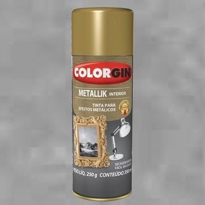 Imagem do produto Spray Metallik Interior - Colorgin