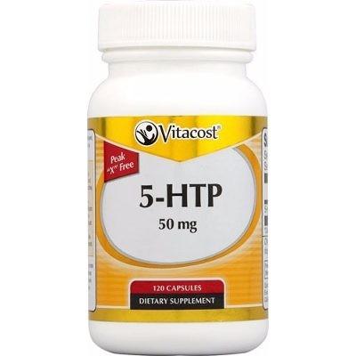 Foto 1 - 5-HTP 50mg (120 Cápsulas) - Vitacost