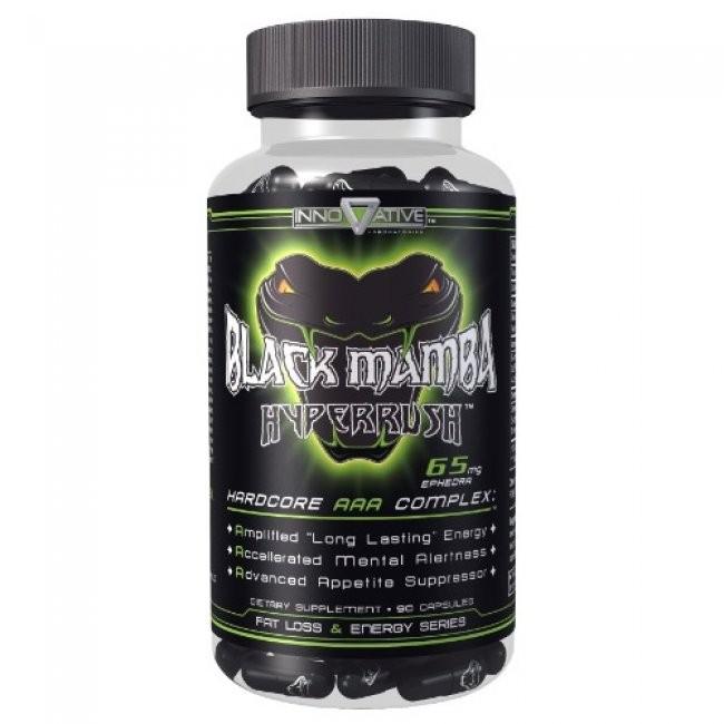 Foto 1 - Black Mamba Hyperrush - Innovative Labs - Original (Americano)
