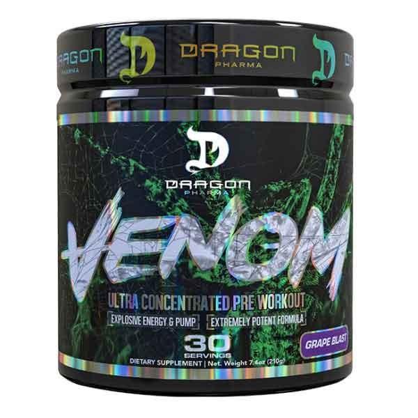 Foto 1 - Venom (30 Doses) - Pre-Treino Ultra Concentrado - Dragon Pharma