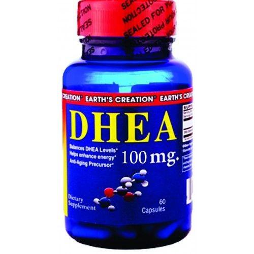 Foto 1 - DHEA 100mg (60 cápsulas) - Earth´s Creation