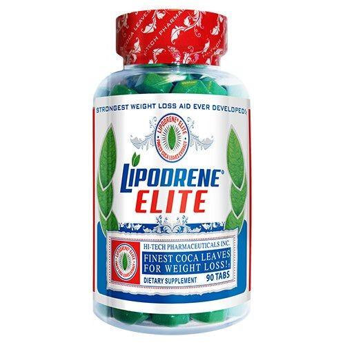 Foto 1 - Lipodrene Elite Finest Coca Leaves (90tabs) - Hi-Tech Pharmaceuticals