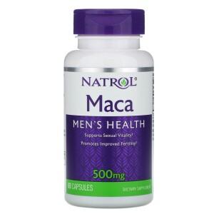 Foto1 - Maca 500 mg (60 Cápsulas) - Natrol