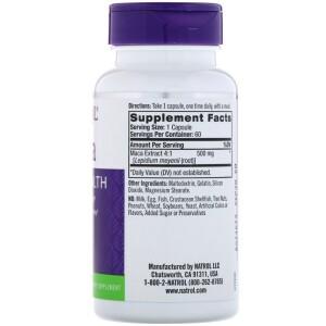 Foto2 - Maca 500 mg (60 Cápsulas) - Natrol
