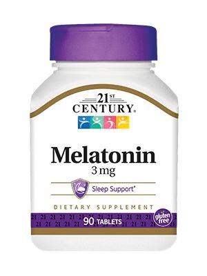 Foto1 - Melatonina 3mg - 21st Century