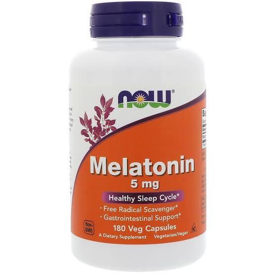 Foto3 - Melatonina 5mg - NOW Foods