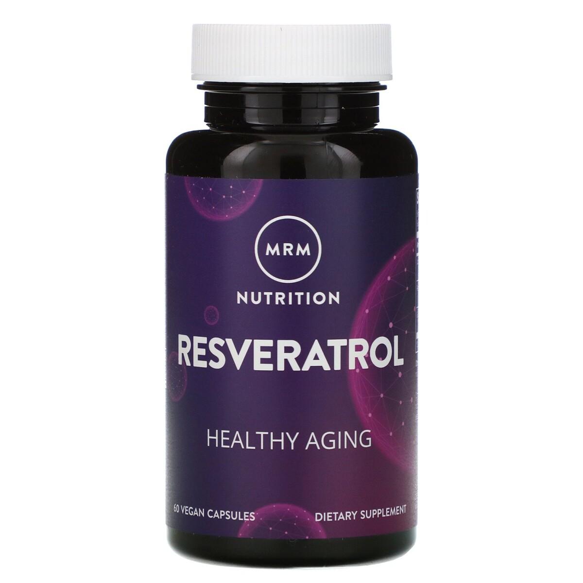 Foto 1 - Resveratrol (60 Cápsulas Veganas) - MRM Nutrition