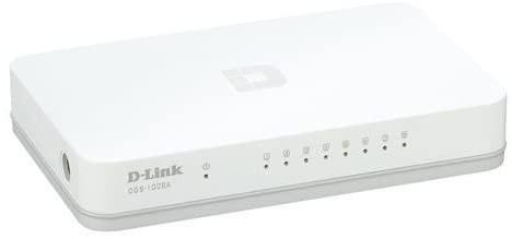 Foto 1 - Switch 8 portas DES-1008C - D-Link Cod.42578