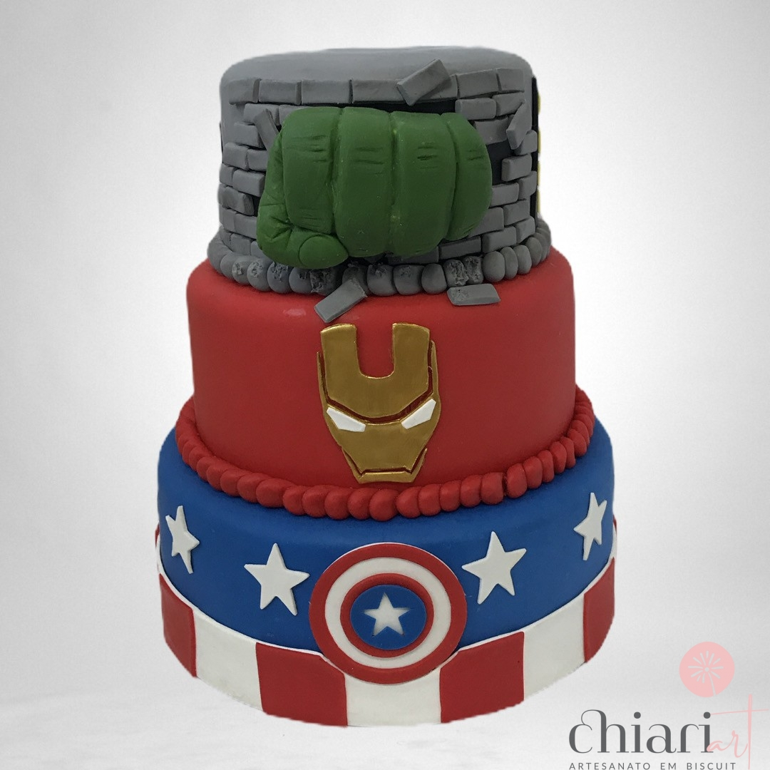 Foto 1 - Bolo Avengers