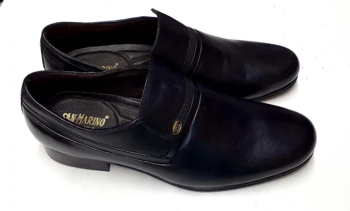 Imagem do produto Sapato Social com solado de couro e pele de cabra