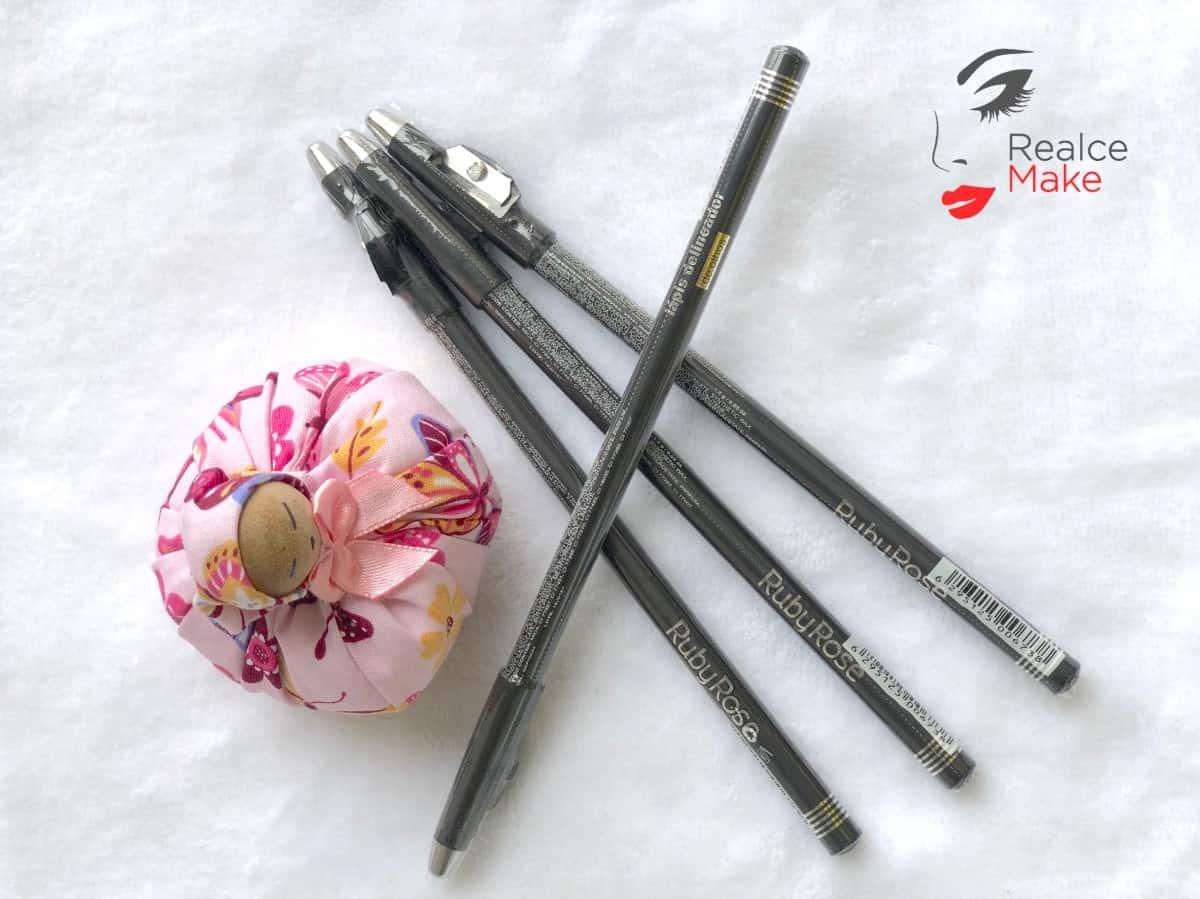 Imagem do produto Lápis Delineador de Olhos com Apontador – RUBY ROSE – RM-000005