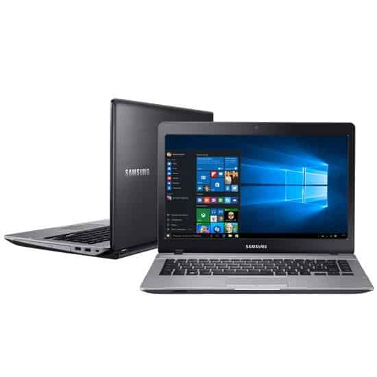 "Foto 1 - Notebook Samsung Intel Dual Core 4GB 500GB Essentials E21 Tela 14"" Windows 10"