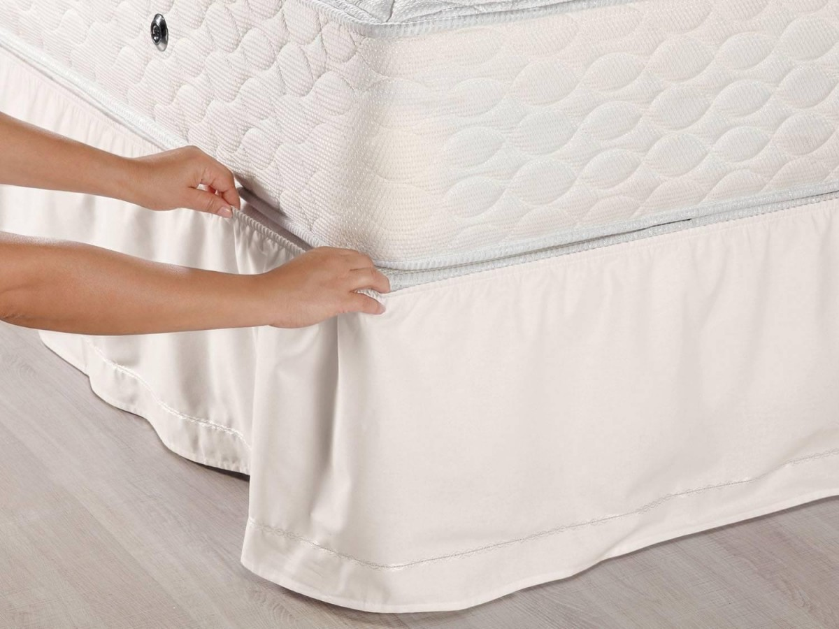 Foto 1 - Saia para cama Queen Size - Box Veste Fácil - Santista