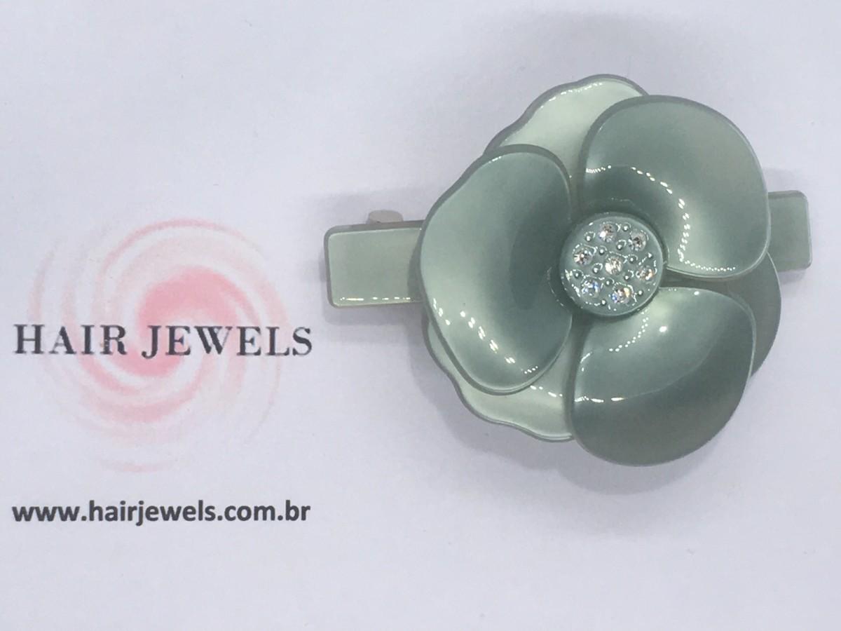 Foto 1 - Presilha Mini Camélia Metalizada - Tal Mãe. Tal Filha