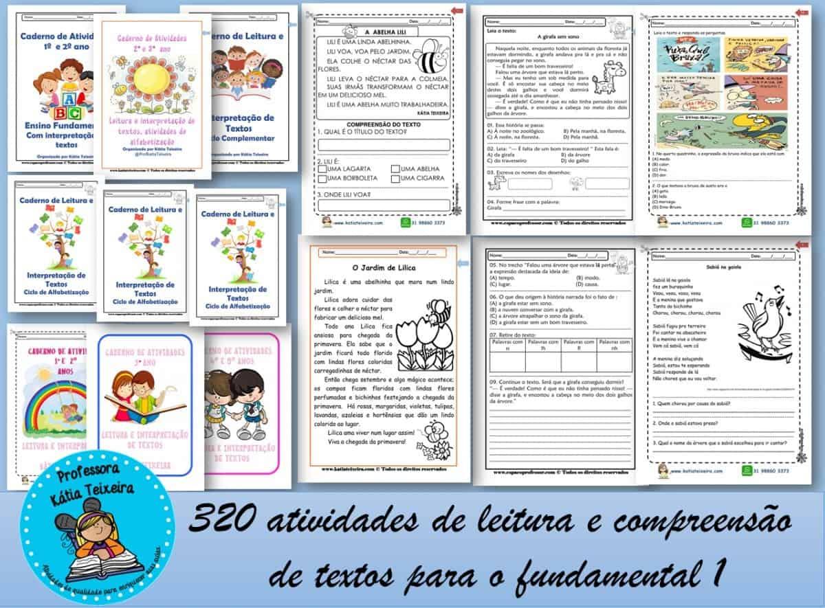 Foto 1 - 320 Atividades de leitura e compreensão textual para o fundamental 1