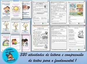 320 Atividades de leitura e compreensão textual para o fundamental 1